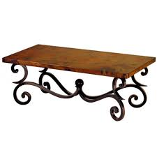 Rod Iron Patio Table And Chairs Mesmerizing Wrought Iron Coffee Table U2013 Wrought Iron And Wood