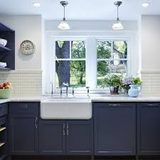 navy blue and white kitchen cupboards beautiful blue kitchen cabinet ideas