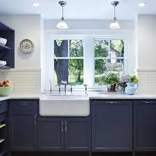 blue kitchen island and white cabinets beautiful blue kitchen cabinet ideas