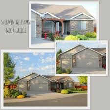 design with altitude sherwin williams mega greige exterior house