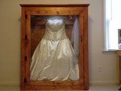 wedding dress shadow box framed my wedding dress in a custom shadow box i waited