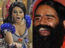 Rakhi Sawant Ki Nangi Photo - rakhi and ramdev on sexy gurus and their babes firstpost