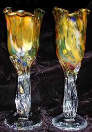 wedding goblets blown glass wedding goblets custom wine glasses blown goblet