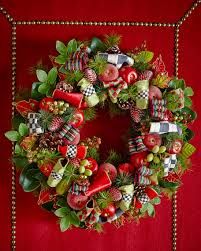 mackenzie childs courtly small wreath