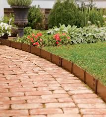 lawn garden brick edging ideas then landscape also haammss