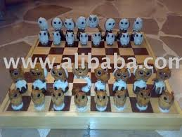 Buy Chess Set Tagua Owl Chess Set Vegetable Ivory Buy Chess Product On