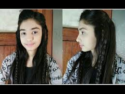 3 minutes simple hairstyle new easy u0026 simple braided hairstyle for