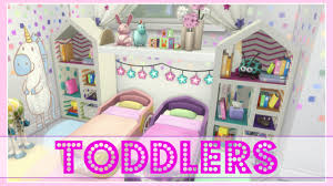 toddlers bedroom the sims 4 twin girl toddlers dream bedroom speed build no cc