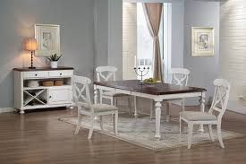 dining room white chairs leather antique rustic modern hickory
