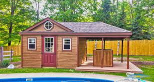 pool house sheds prefabricated pool houses horizon structures