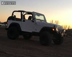 jeep 2000 2000 jeep wrangler mickey thompson classic iii bds suspension