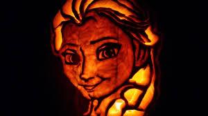 printable pumpkin stencils elsa decoration simple and neat picture of elsa princess frozen disney