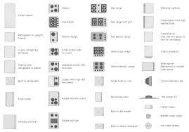 Kitchen Floor Plans Designs Design Elements Appliances Kitchen Floor Plan Symbols Appliances