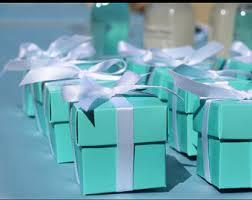 robin egg blue gift boxes labels etsy