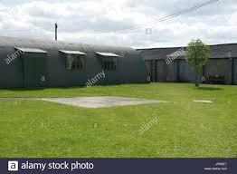 nissen hut prefabricated steel structure stock photo royalty