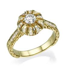 antique engagement ring art deco engagement ring wedding ring