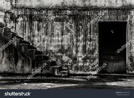 horror halloween background abandoned building darkness horror halloween background stock