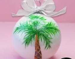 palm tree ornament etsy