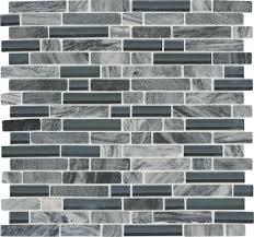 menards kitchen backsplash mohawk phase platinum mosaic and glass wall tile 5 8 random