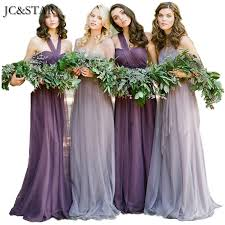 purple bridesmaid dresses jc 2017 new variety to wear convertible dresses cheap