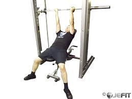 Bench Press Wide Or Narrow Grip Smith Machine Reverse Grip Incline Bench Press Exercise Database