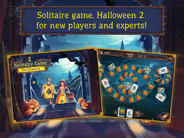 solitaire game halloween 2 hd android apps on google play