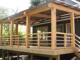 horizontal deck railing in spectacular look u2014 doherty house