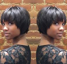 layered hairstyles with bangs for african americans that hairs thinning out 50 most captivating african american short hairstyles and haircuts