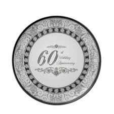 60th anniversary plates 15 best 60th wedding anniversary images on 60 wedding