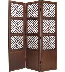 lattice style wood room divider in room dividers