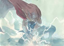 anthony s comic book art for sale artwork thor dropping the