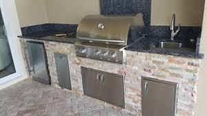 outdoor kitchen backsplash the classically beautiful style eok outdoor kitchen