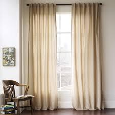 Cotton Canvas Curtains Cotton Canvas Curtain Light Flax West Elm