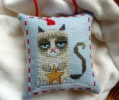 55 best finished completed cross stitch pillow ornaments images