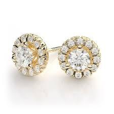 gold diamond earrings new zales diamond earrings studs jewellry s website