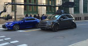 lexus sports car commercial lexus spotted in detroit filming a commercial