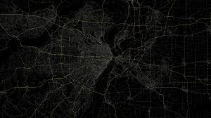 Map Wallpaper Download Line Black Background Route 480x854 Resolution Full Hd