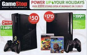 gamestop black friday deals black friday 2011 video games deals leaked early
