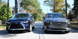 suv lexus 2016 head2head lexus rx350 and mazda cx 9 u2013 speed beautiful u2013 for
