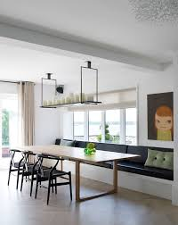 Awesome Dining Room Tables With Bench Seating Contemporary Room - Dining room table with sofa seating