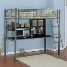 monster bedroom twin study loft bunk bed