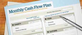 free download monthly cash flow plan daveramsey com