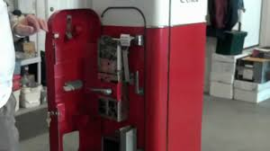 vendo coca cola vmc 44 bottle vending coke machine youtube