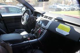 land rover sport interior spied updated 2018 land rover range rover sport in the snow
