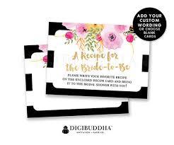 photo insert cards bridal shower insert card custom invitation enclosure cards