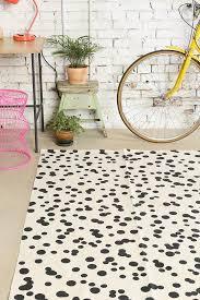 black and white geometric print rug creative rugs decoration