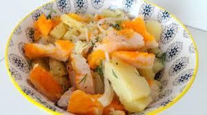 cuisiner le haddock fumé salade de pommes de terre au haddock fumé façon nordique recette