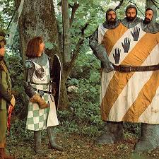 1975 monty python and the holy grail film 1970s the red list