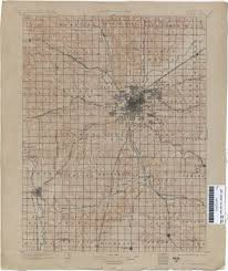 Lincoln City Map Nebraska Historical Topographic Maps Perry Castañeda Map