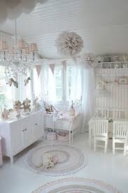 Shabby Chic Room Decor white and pink nursery with shabby chic decor